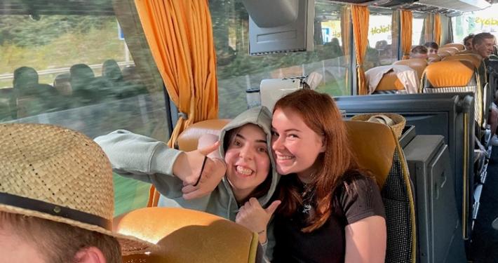 Busfahrt nach Mailand